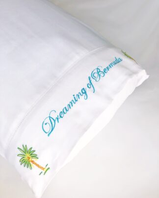 Dreaming of Bermuda pillowcase