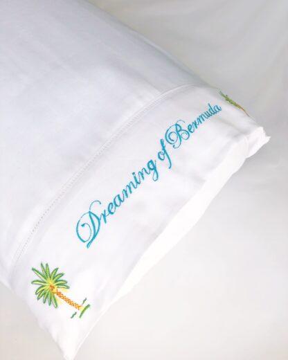 Dreaming of Bermuda pillowcase