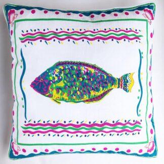 Fish decorative pillow