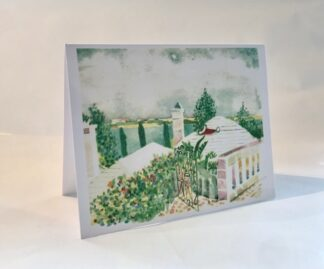 Christmas at Fine Outlook Notecard