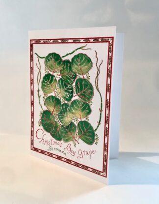 Christmas Bay Grape Notecard