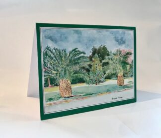 Christmas at Albouys Point Notecard