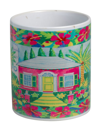 Pink Cottage Mug