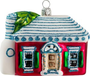 Bermuda Cottage Christmas Ornament designed by Barbara Finsness