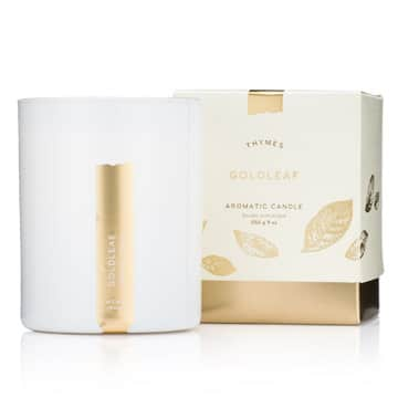 Thymes Goldleaf Scented Candle