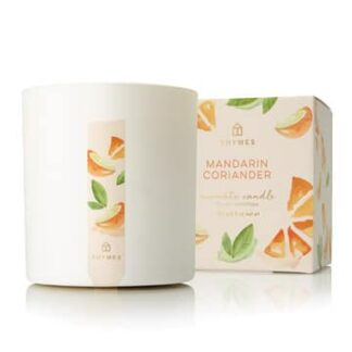 Thymes Mandarin Coriander Scented Candle