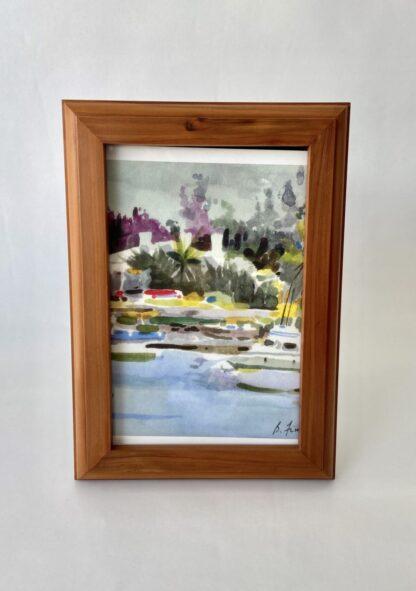 Bermuda Cedar Frame 4x6