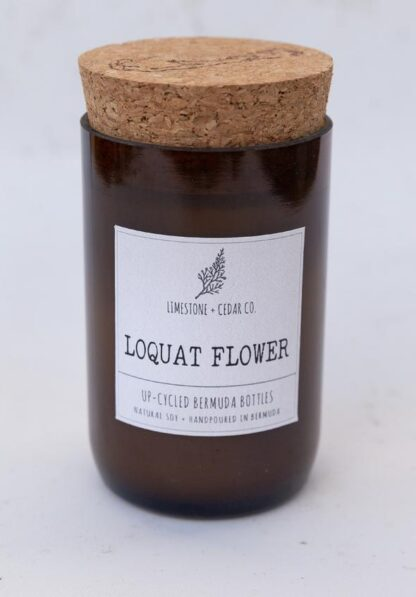 Limestone & Cedar Co. Candle - Loquat Flower