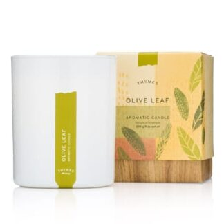 Thymes Olive Leaf Scented Candle