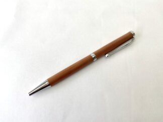 Bermuda Cedar Pen in Silver (slim)