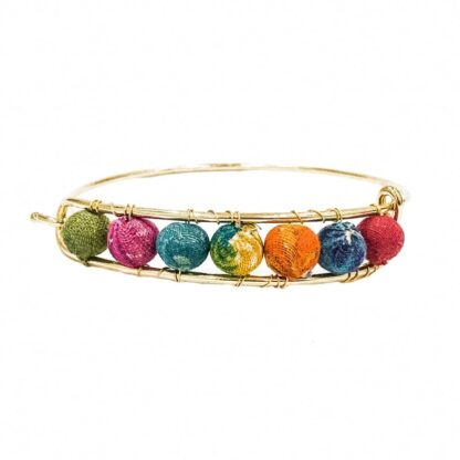 Kantha Bangle Bracelet