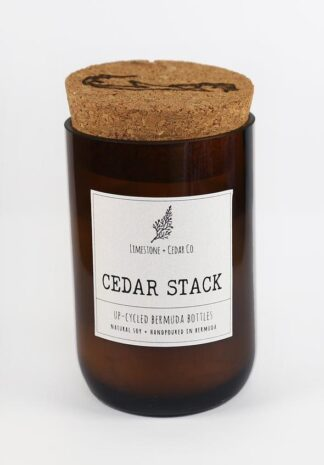 Limestone & Cedar Co. Candle - Cedar Stack