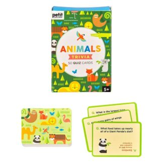 Animals Trivia Quiz Card Set