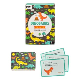Dinosaurs Trivia Quiz Card Set