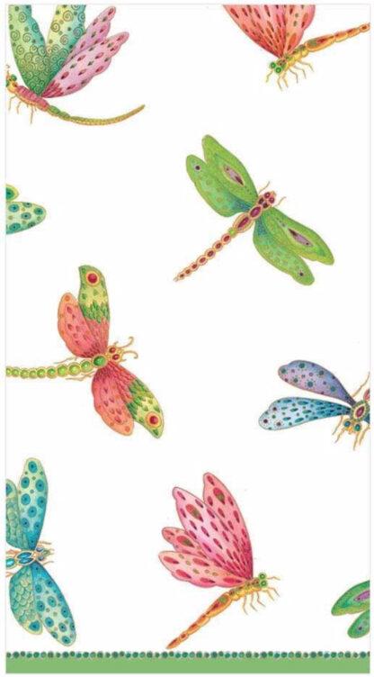 Dragonflies Paper Guest Towel Napkins