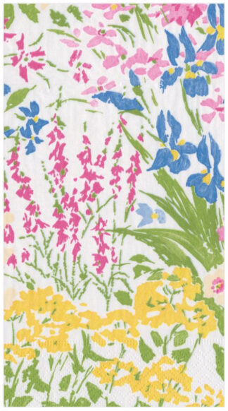 Meadow Flowers Paper Guest Towel Napkins