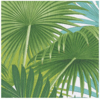 Palm Fronds Paper Luncheon Napkins