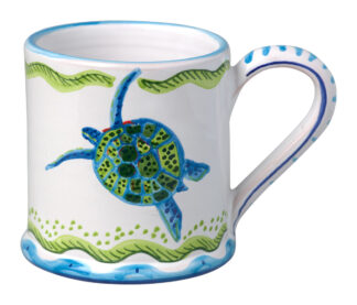 Tree Frog & Flower Medley Large Mug