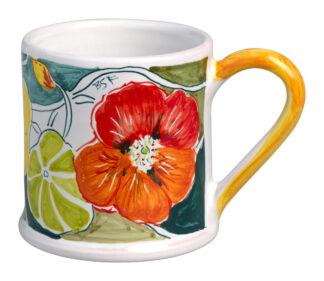 Tree Frog & Flower Medley Large Mug
