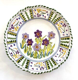 Bermudiana Scalloped Plate