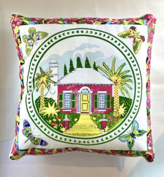 Bermuda Cottage Pillow