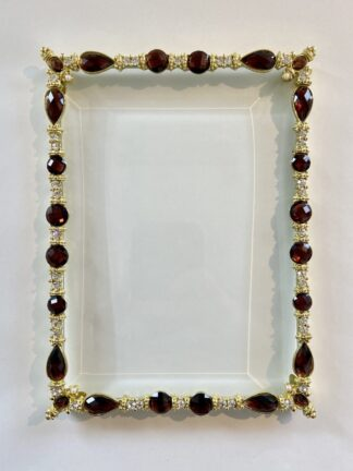 Olivia Riegel 5x7 Frame (Black and Gold)