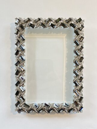 Olivia Riegel 4x6 Frame Grey Sm. Rectangles