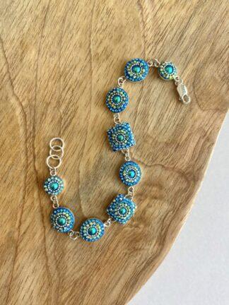 Turquoise Island Crystal Bracelet