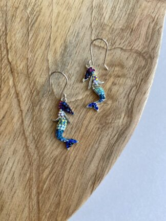 Crystal Mermaid Earrings