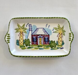 Bermuda Cottage Small Butter Tray