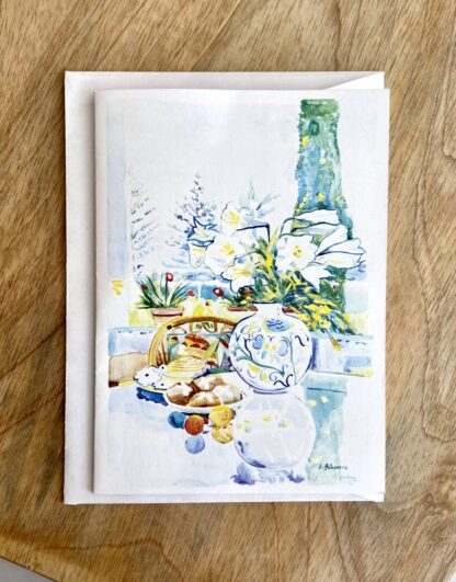 Bermuda Easter Lily Notecard