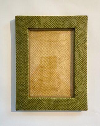 Faux Leather 4x6 Frame