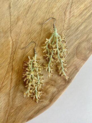 Crystal Starfish Earrings