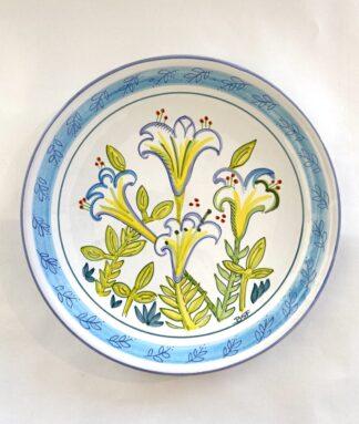 Bermuda Easter Lily Dinner Plate