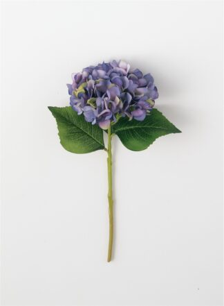Hydrangea Stem in White