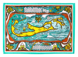 Bermuda Map Placemat