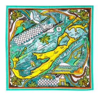 Bermuda Map Napkin