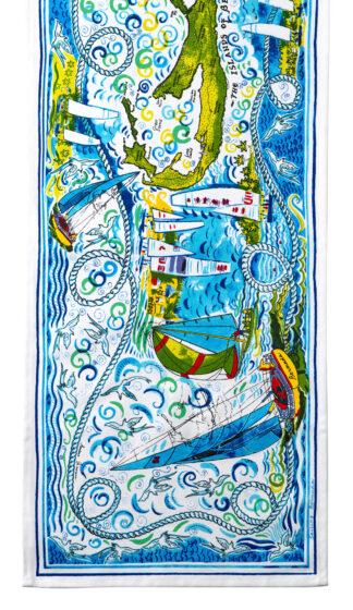 Sailing Bermuda Table Runner