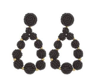 Chelsea Teardrop Earrings in Periwinkle