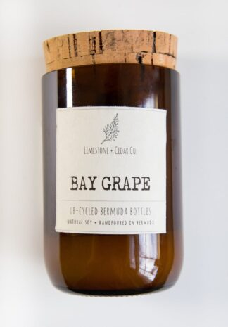 Limestone & Cedar Co. Candle – Bay Grape