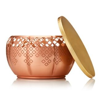 Thymes Heirlum Pumpkin Large Copper Candle