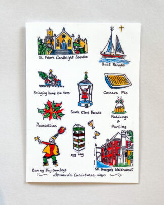 Bermuda Christmas Joys Notecard
