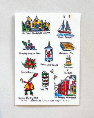 Bermuda Christmas Joys Notecard