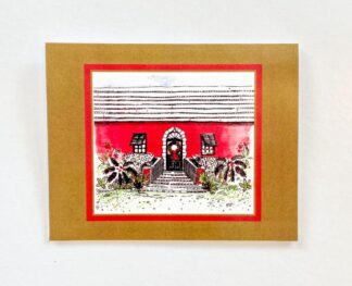 Christmas Welcoming Arms Notecard
