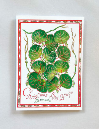 Christmas Bay Grape Notecard
