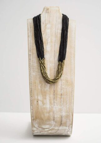 Hema Necklace Black