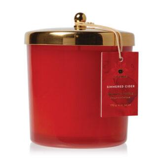 Simmered Cider Harvest Red Poured Candle