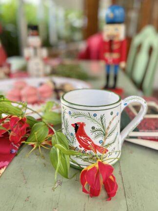 Bermuda Red Bird Large Mug