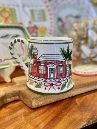 Bermuda Christmas Cottage Large Mug