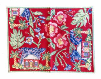 Red Cottage Placemat